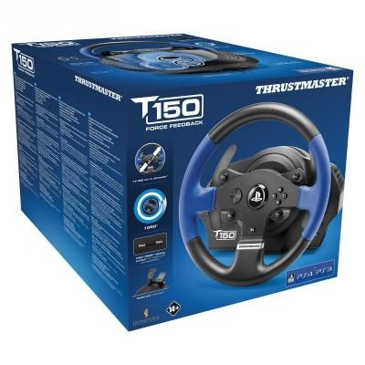 Руль Thrustmaster T150 Force Feedback, черный/синий