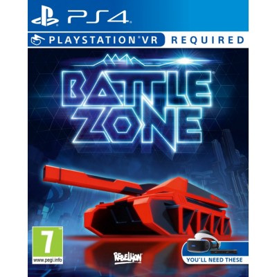 Battlezone (только для PS VR) (русская версия) (PS4)