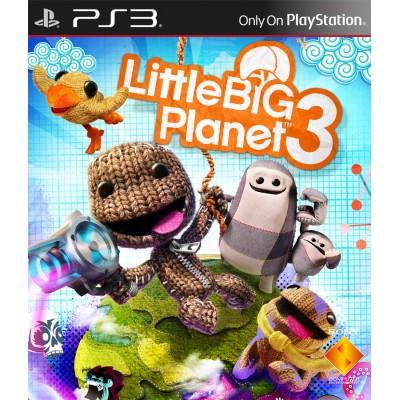 LittleBigPlanet 3 (совместим с PlayStation Move) (русская версия) (PS3)