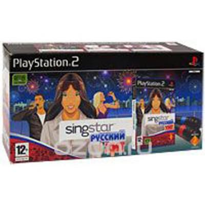 SingStar: Русский хит + 2 микрофона (PS2)