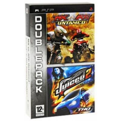 2 в 1 MX vs ATV Untamed + Juiced 2 (PSP)