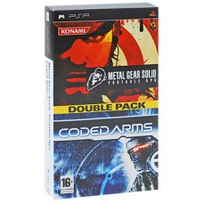 2 в 1 Metal Gear Solid: Portable Ops + Coded Arms PSP