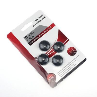 Защитные резинки на джойстик Thumb grips 4шт. (черные)