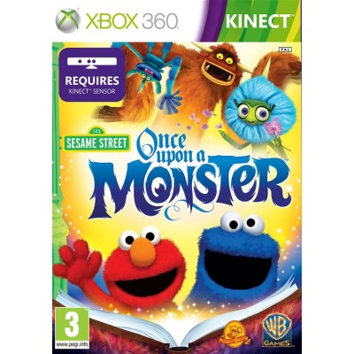 Sesame Street: Once Upon A Monster (с поддержкой Kinect) (Xbox 360)
