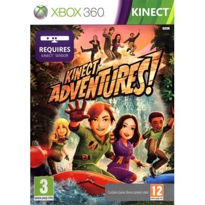 Kinect Adventures! (для Kinect) (Xbox 360)