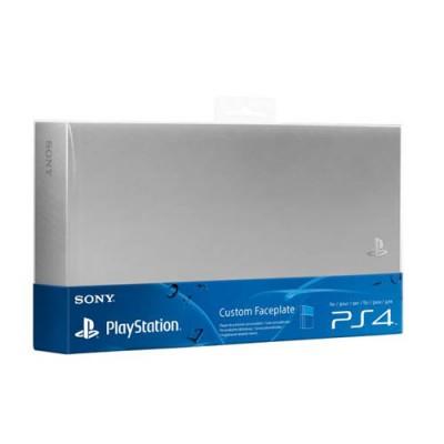 Крышка отсека HDD (Custom Faceplate) серебристого цвета (PS4)