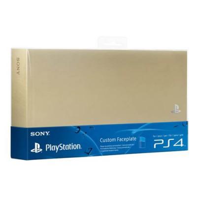 Крышка отсека HDD (Custom Faceplate) золотистого цвета (PS4)