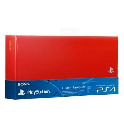 Крышка отсека HDD (Custom Faceplate) красного цвета (PS4)