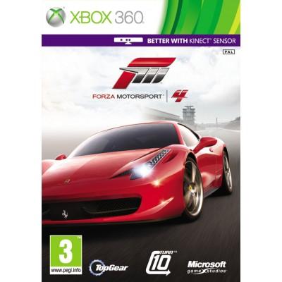 Forza Motorsport 4 (с поддержкой Kinect) (русская версия) (Xbox 360)