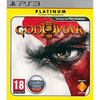 Игра для PlayStation 3 God of War 3, полностью на русском языке