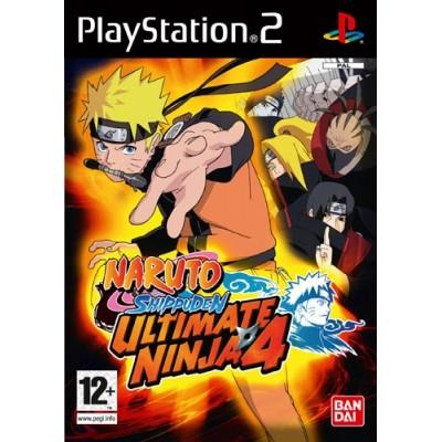 Naruto Shippuuden Ultimate Ninja 4 (PS2)