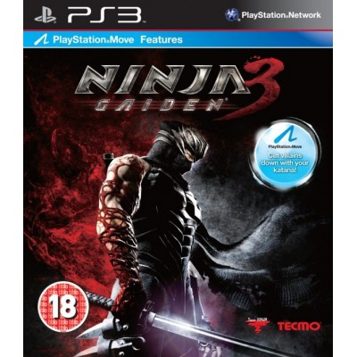 Ninja Gaiden 3 (с поддержкой PlayStation Move) (PS3)