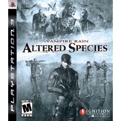Vampire Rain: Altered Species (PS3)