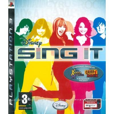 Disney Sing It (русская версия) (PS3)