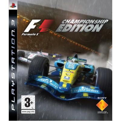 Formula One Championship Edition (PS3)