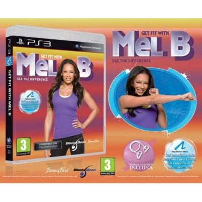 Get Fit With Mel B + Resistance Band (с поддержкой PlayStation Move) (PS3)