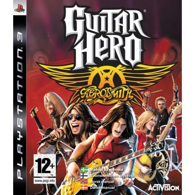 Игра для PlayStation 3 Guitar Hero: Aerosmith