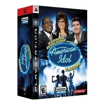 Karaoke Revolution Presents: American Idol Encore (PS3)