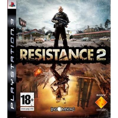 Игра для PlayStation 3 Resistance 2