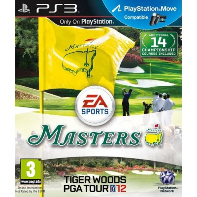 Tiger Woods PGA TOUR 12: The Masters (с поддержкой PlayStation Move) (PS3)