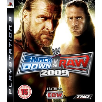 WWE SmackDown! vs. RAW 2009 PS3
