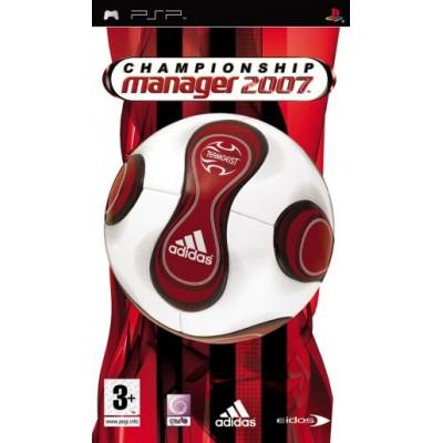 Championship Manager 2007 PSP