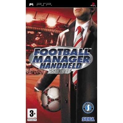 Football Manager Handheld 2008 PSP