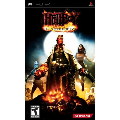 Hellboy: The Science of Evil PSP
