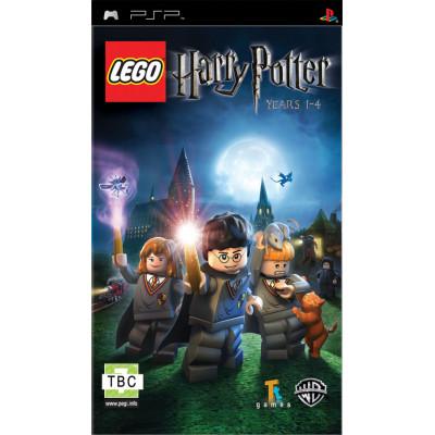 LEGO Гарри Поттер: Годы 1-4 (PSP)