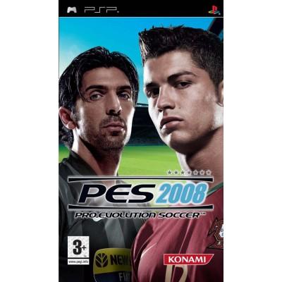 Pro Evolution Soccer 2008 PSP