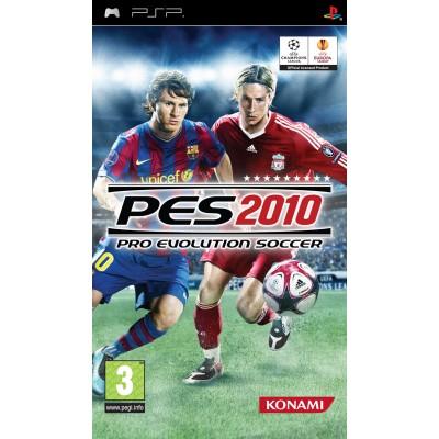 Pro Evolution Soccer 2010 PSP