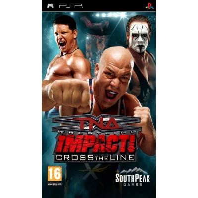 TNA iMPACT!: Cross the Line PSP