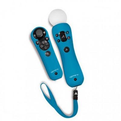 Комплект чехлов для PS Move Silicone Jackets (синий)