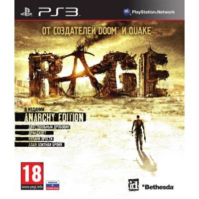 RAGE Anarchy Edition PS3