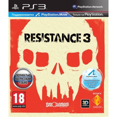 Resistance 3 (Русская версия) (PS3)