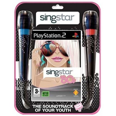 SingStar 80's + 2 микрофона (PS2)