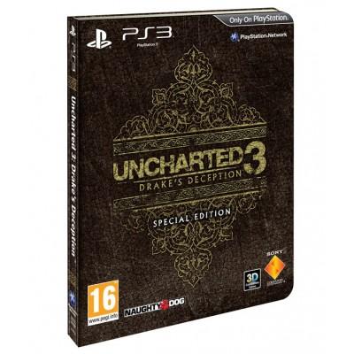 Uncharted 3: Иллюзии Дрейка. Специальное издание (русская версия) (PS3)