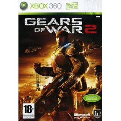 Gears of War 2 (бокс без полиграфии)  (Xbox 360)