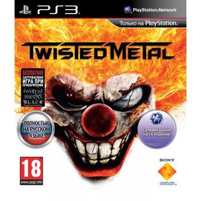 Игра для PlayStation 3 Twisted Metal, полностью на русском языке