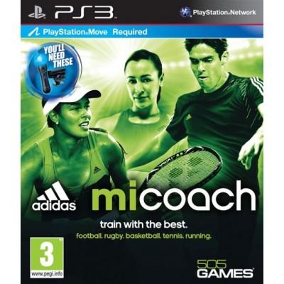 Adidas miCoach (с поддержкой PlayStation Move) (PS3)