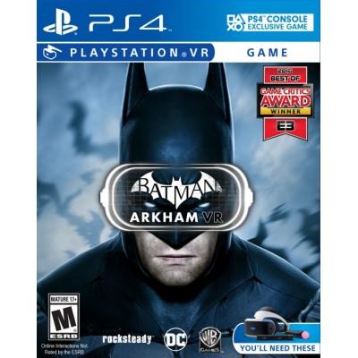 Batman: Arkham VR (только для PS VR)  (PS4)
