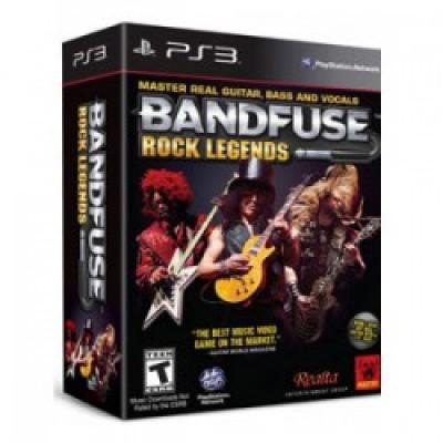 BandFuse Rock Legends Cable Bundle (PS3)