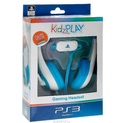 Стерео гарнитура Kidz Play для PS3 (голубая)
