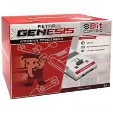Retro Genesis 8 Bit Classic + 300 игр (AV кабель, 2 проводных джойстика)