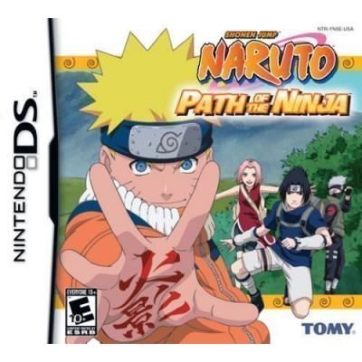 Naruto Path of the Ninja (DS)