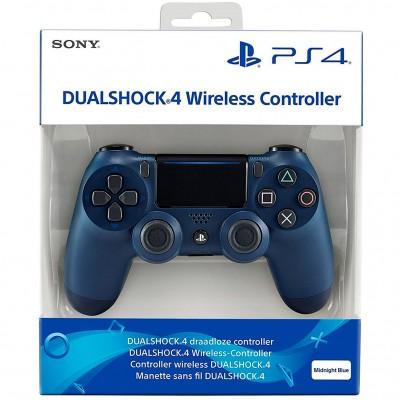 Геймпад Sony DualShock 4 v2 CUH-ZCT2E, Синяя полночь