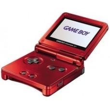 Игровая приставка Nintendo Game Boy Advance SP, красный