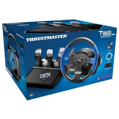 Руль Thrustmaster T150 Pro Force Feedback, черный/синий