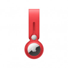 Кожаный брелок-подвеска для AirTag, (PRODUCT)RED