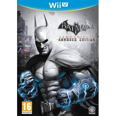 Batman: Arkham City Armored Edition (русская версия) (Wii U)
